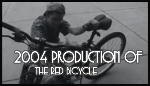 red bicycle, comedic short, college film, college filmmaking