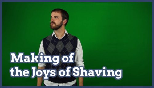 making of, shave, shaving, making of the joys of shaving,