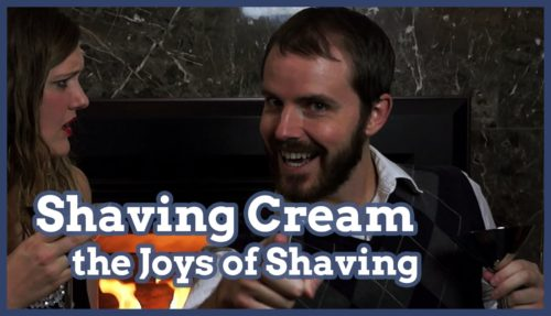 shaving cream, shave cream, joys of the shaving, smooth shave